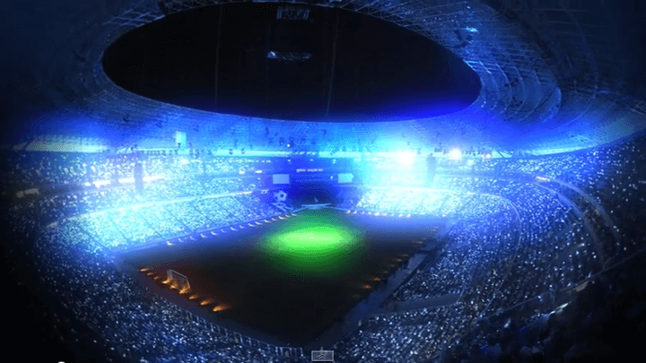 Arena Experience - stadium lighting