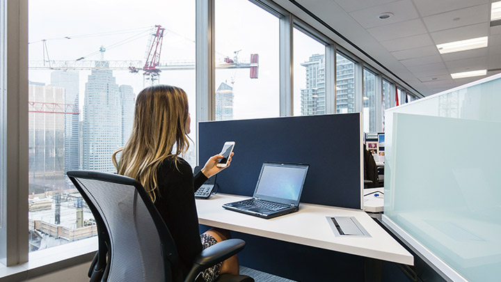 Philips Lighting's smart lighting system: Increase efficiency and workplace innovation with Open API's and a rich partner network that enables the development of a variety of customized software apps.