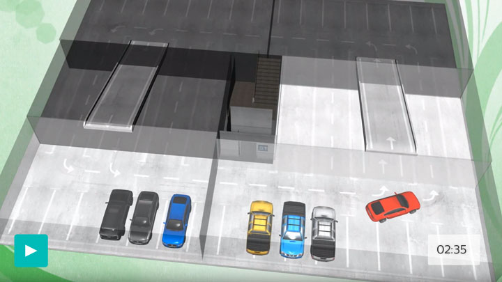 Philips smart car park lighting system - Green Parking - How to save energy