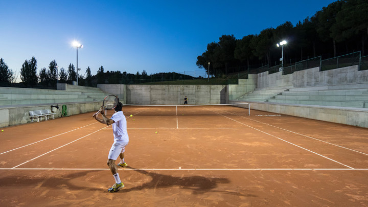 Tennis Court Lighting - Flood Lighting