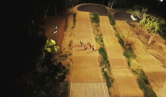 Castle Hill BMX Club at Sydney